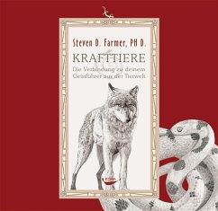 Krafttiere, 1 Audio-CD - Farmer, Steven D.