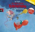 Der kleine Drache Kokosnuss und die Wetterhexe / Die Abenteuer des kleinen Drachen Kokosnuss Bd.8, 1 Audio-CD