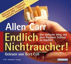Endlich Nichtraucher, 2 Audio-CDs - Carr, Allen
