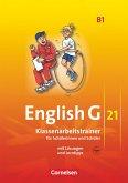 English G 21. Ausgabe B 1. Klassenarbeitstrainer mit Lösungen und Audios Online