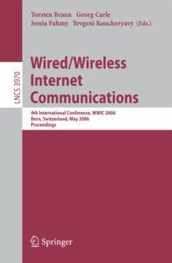 Wired/Wireless Internet Communications - Braun