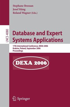 Database and Expert Systems and Applications - Bressan, Stephane / Küng, Josef / Wagner, Roland
