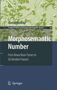 Morphosemantic Number: - Harbour, Daniel