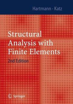 Structural Analysis with Finite Elements - Hartmann, Friedel; Katz, Casimir
