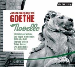 Novelle, 1 Audio-CD - Goethe, Johann Wolfgang von