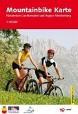 Mountainbike Karte Fürstentum Liechtenstein und Region Werdenberg 1 : 50 000