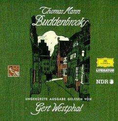 Buddenbrooks, 22 Audio-CDs - Mann, Thomas