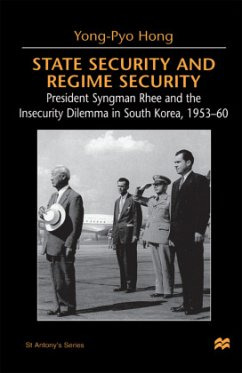 State Security and Regime Security: President Syngman Rhee and the Insecurity Dilemma in South Korea, 1953-60 - Na, Na