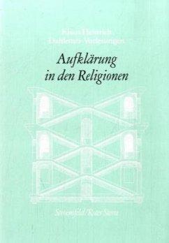Dahlemer Vorlesungen VIII. Begriff der Aufkläru...