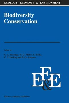 Biodiversity Conservation - Perrings, Charles A. / Mäler, Karl-Göran / Folke, C. / Holling, C.S. / Jansson, Beng-Owe (Hgg.)