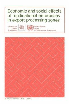 Economic and Social Effects of Multinational Enterprises in Export Processing Zones - Ilo