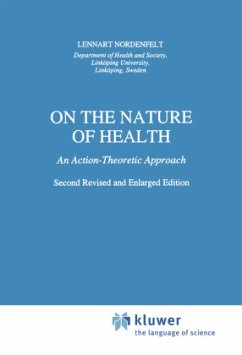 On the Nature of Health - Nordenfelt, L.Y