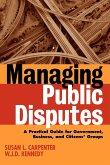 Managing Public Disputes