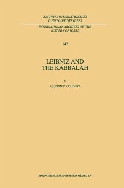Leibniz and the Kabbalah - Coudert, A. P.