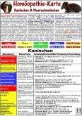 Homöopathie für Kaninchen & Meerschweinchen, Tierheilkunde-Karte