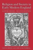 Religion and Society in Early Modern England