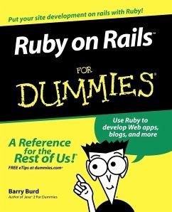 Ruby on Rails For Dummies - Burd, Barry