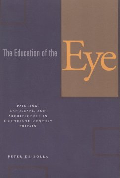 The Education of the Eye: Painting, Landscape, and Architecture in Eighteenth-Century Britain - De Bolla, Peter