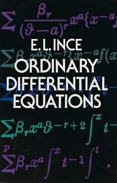 Ordinary Differential Equations - Ince, Edward Lindsay
