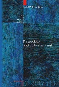 Phraseology and Culture in English - Skandera, Paul (ed.)