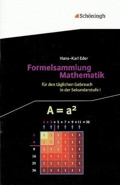 Formelsammlung Mathematik - Eder, Hans-Karl