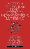 Progress in Inorganic Chemistry, Molecular Level Artificial Photosynthetic Materials