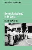 Electoral Allegiance in Sri Lanka
