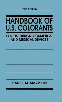Handbook Of US Colorants 3e - Marmion