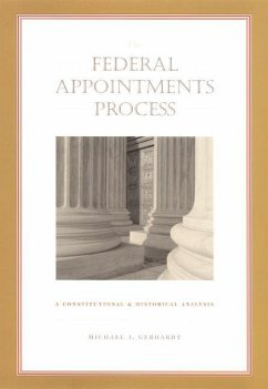 The Federal Appointments Process - Gerhardt, Michael J.