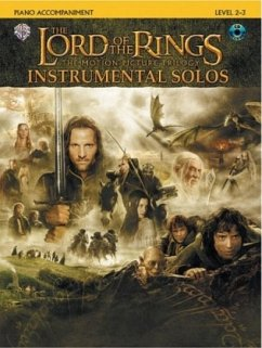 The Lord of the Rings, The Motion Picture Trilogy, w. Audio-CD, for Piano Accompaniment