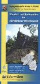 Topographische Karte Rheinland-Pfalz Wandern und Radwandern im Nördlichen Westerwald