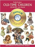 Full-Color Old-Time Children CD-ROM and Book