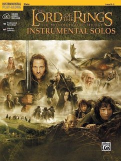 The Lord of the Rings, The Motion Picture Trilogy, w. Audio-CD, for Flute