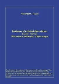 Wörterbuch technischer Abkürzungen