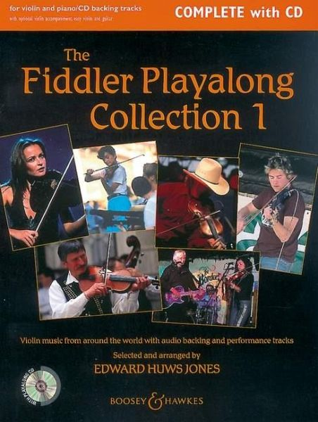 The Fiddler Playalong Collection, Violin and Piano, w. Audio-CD - Huws Jones, Edward