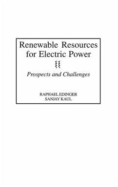 Renewable Resources for Electric Power - Edinger, Raphael; Kaul, Sanjay