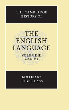 The Cambridge History of the English Language - Lass, Roger (ed.)