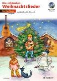 Für 1-2 Gitarren, m. Audio-CD / Die schönsten Weihnachtslieder, Notenausg. m. Audio-CDs