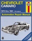 Chevrolet Camaro V-8, 1970-81 Owner's Workshop Manual