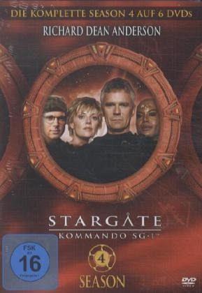 Stargate Kommando SG-1 - Season 04 (5 DVDs)