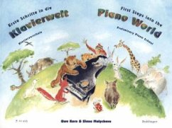 Erste Schritte in die Klavierwelt - Korn, Uwe; Malycheva, Elena