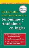 Diccionario Merriam-Webster de Sinonimos y Antonimos En Ingles