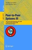 Peer-to-Peer Systems III