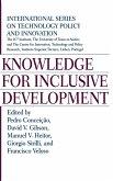 Knowledge for Inclusive Development