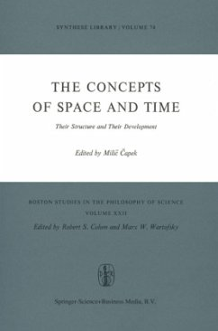 The Concepts of Space and Time - Capek, M. (Hrsg.)
