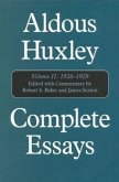 Aldous Huxley Complete Essays: Volume II, 1926-1929