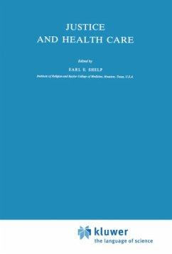 Justice and Health Care - Shelp, E.E. (Hrsg.)