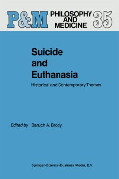 Suicide and Euthanasia - Brody, B.A. (Hrsg.)