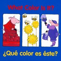 What Color Is It? / Que color es este?