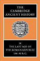 The Cambridge Ancient History 14 Volume Set in 19 Hardback Parts - Crook, J. A. / Lintott, Andrew / Rawson, Elizabeth (eds.)